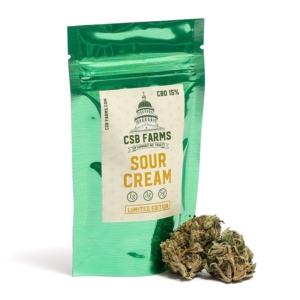 Sour Cream CBD Weed