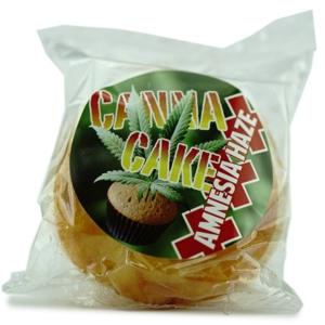 Canapa Cake Vanilla Muffins Amnesia Haze