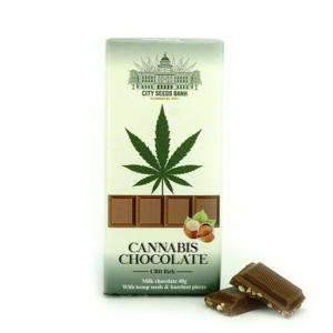 Cannabis Chocolate Milk con Nocciole 40g