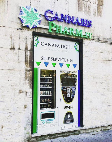 distributore cannabis pharm